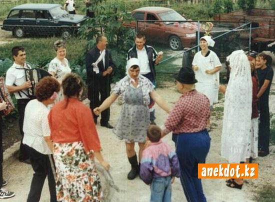 Свадебные танцы или как танцуют бабушки