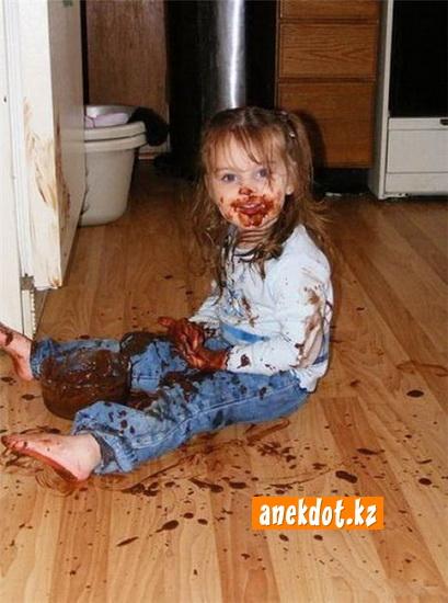 Шоколад вдвойне вкусней если кушать двумя руками